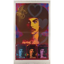 Prince 'His Royal Badness' Screenprint Diptych. Art Made for Glam Slam Night Club.