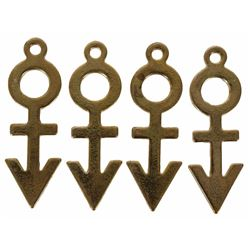Prince Set of (4) Symbol Charms Made For Him