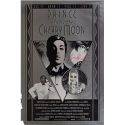 Prince Signed Cherry Moon Poster