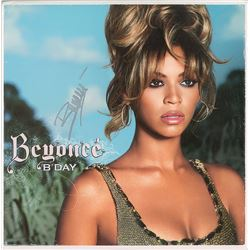 Beyonce Signed Album