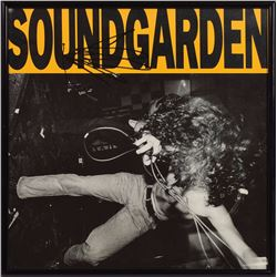 Soundgarden: Chris Cornell Signed Album Flat