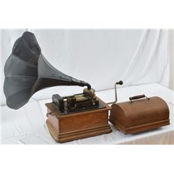 Oak Cased Edison Standard Phonograph Type D