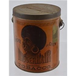 "Rare ""NiggerHair"" Tobacco Tin"