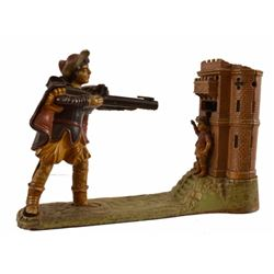 William Tell Cast Iron Mechanical Bank
