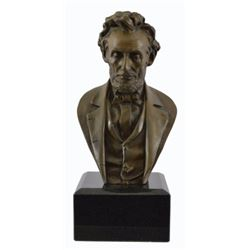 Abraham Lincoln Bronze Bust By John Rogers