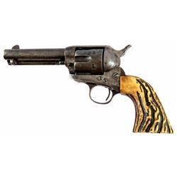 Colt Model 1873 SAA .38 With Stag Grips