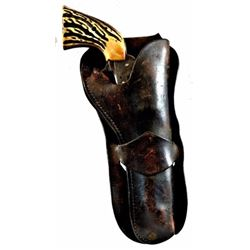Colt SAA .44-40 In Early King Ranch Holster