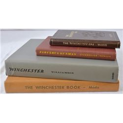 Collection Of 4 Books On Winchester Firearms