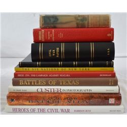 Collection Of 10 Civil War Books