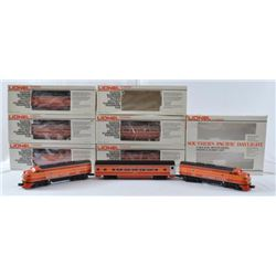 Lionel 0 Guage Southern Pacific Daylight Train Set