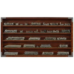 Collection Of 30 Franklin Mint Locomotives