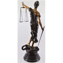 Themis Justice of Peace Bronze