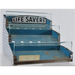 Life Savers Advertising Counter Top Display