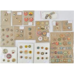 Collection of Assorted Pinbacks