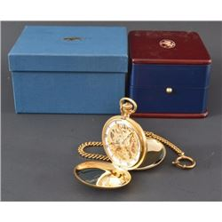 Bailey Banks & Biddle Engraved Pocket Watch