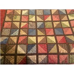 Hand Made Queen Sized Quilt