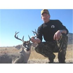 6 Day Coues Deer Hunt in Mexico