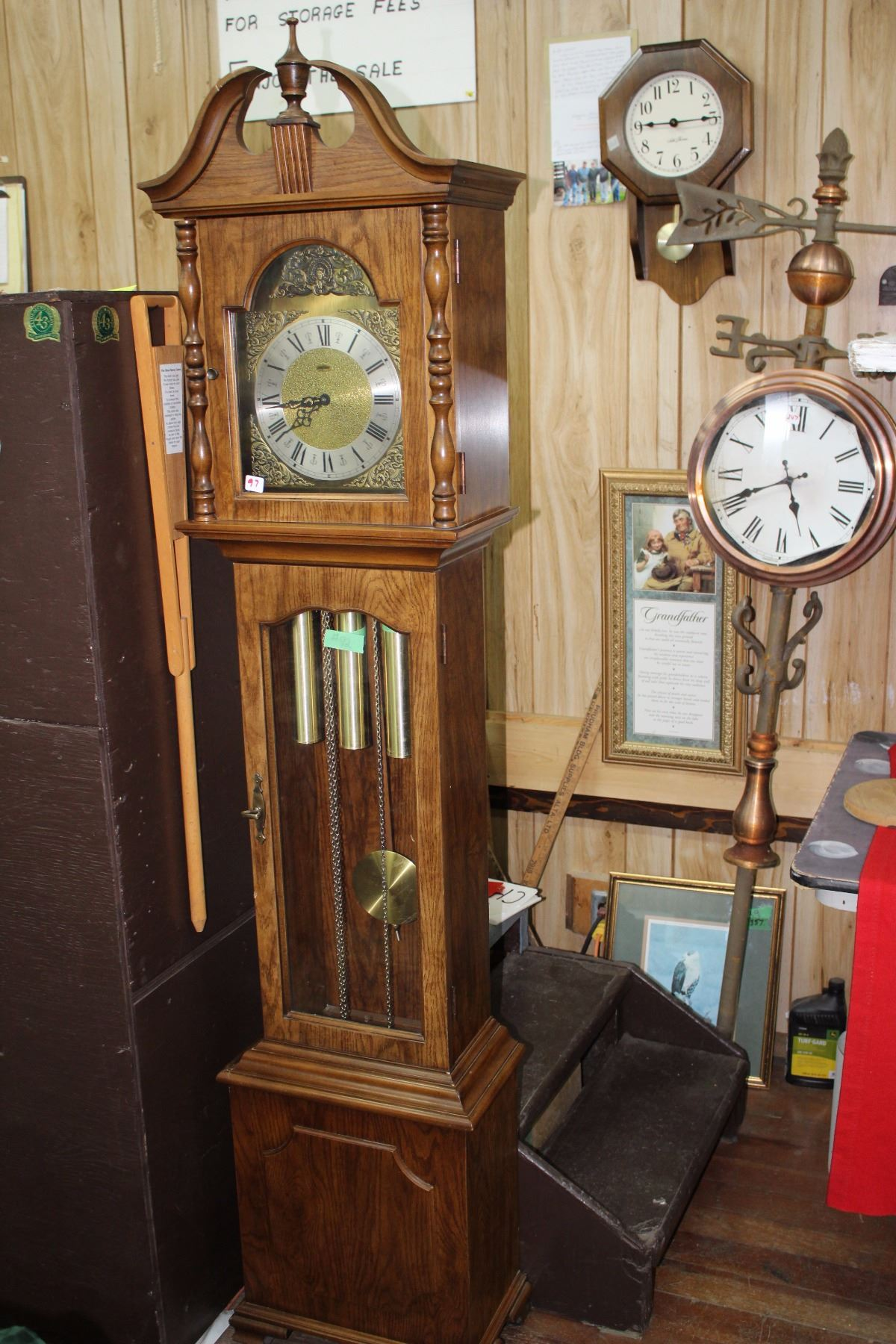 Hermle Black Forest Grandfatherclock Amherst Virginia Made By