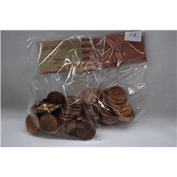Canada One Cent Coins (100) 2006 (High Lustre)