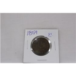 Canada One Cent - 1859