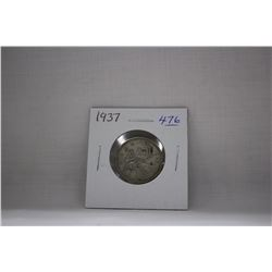Canada Twenty-Five Cent Coins (1) 1937 - Silver