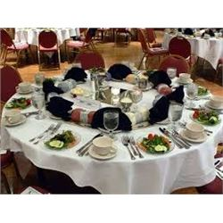 2019 SCI TREASURE VALLEY CHAPTER BANQUET HEAD TABLE