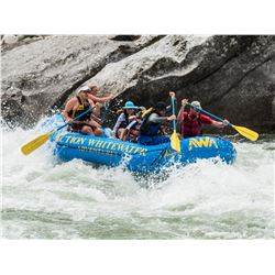 WHITEWATER RAFTING ADVENTURE FOR 2 ON THE MAIN SALMON RIVER IDAHO