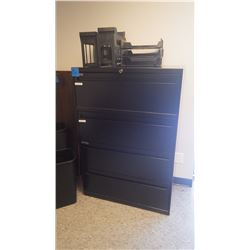 1 - 4 DRAWER FILE CABINET W/ FILE ORGAINZERS