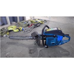 MAKITA GEO RIPPER WITH CUT OFF SAW CONVERSION KIT. ALL NEW AND UNUSED