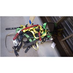NUMEROUS RIGGING HARNESSES AS PICTURED