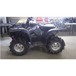 2008 YAMAHA SPECIAL EDITION 700FI GRIZZLY 4 X 4 WITH WINCH KIT,ELECTRIC POWR STEERING, DIFF LOCK ON