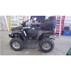2007 ARCTIC CAT 650 4 X 4 WITH  TWO UP SEATING 265HRS 4039 KMS RUNS AND WORKS AS IT SHOULD