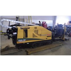 2015 VERMEER D20 X 22 SERIES II DIRECTIONAL DRILL. VIN 1VR6180T9F1001876 WITH 865.5 HRS COMES WITH F