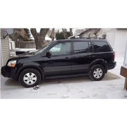 2004 HONDA PILOT GRANITE EDITION 4 X 4...NO PST... 224654KMS VIN 2HKYF18194H003203 WITH FULL POWER O