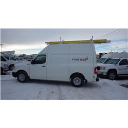 2014 NISSAN NV 2500 HIGH ROOF 5.6L V8 VIN 1N6BFOLYXEN101093….BOTH TAXES.... WITH 61354 KMS FULL OPTI