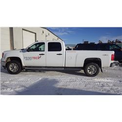 2013 GMC 3500 SIERRA CREW CAB 4 X 4 LONG BOX 6.0L V8 GAS VIN 1gt422cg0df138074 …NO PST...WITH 131912