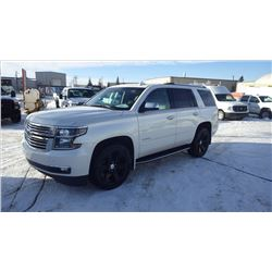 2015 CHEVROLET TAHOE LTZ 4 X 4 VIN 1GNSKCKC0FR569969 ...NO PST....WITH 37560 KMS AND BALANCE OF FULL