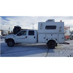 2006 FORD F350 CREW CAB 4 X 4 DUALLY 6.0L TURBO DIESEL VIN 1FDWW37P96ED68973 ....BOTH TAXES....WITH