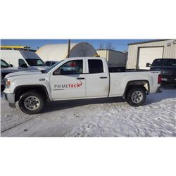 2014 GMC SIERRA 1500 CREW CAB 4 X 4 VIN 1GTV2TE9EZ136582 ….BOTH TAXES….WITH 64832 KMS 4.3L V6, POWER