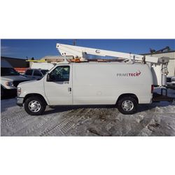 2011 E250 BUCKET VAN VIN 1FTNE2EW1BDB00720….NO PST…. AND 47612 KMS. 4.6L V8  AIR, TILT, CRUISE, AM F