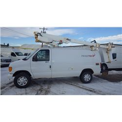 2007 FORD E350 BUCKET VAN 5.4L V8 VIN 1FTSE34L27DA17062….NO PST…. AND 104028 KMS AIR, TILT, CRUISE,