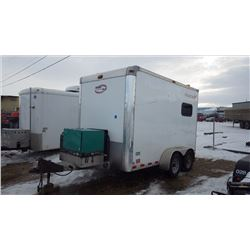 2014 MOBILE TECH SPLICE TRAILER VIN 1MB9BE1222EA859118 WITH CUMMINS ONAN DIESEL GENERATOR, AIR CONDI