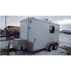 2014 PENNER TRAILERS SPLICE TRAILER VIN 5nhuts225fw056635 WITH HONDA EU6500IS HONDA GENERATOR, AIR C