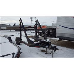 2017 FLAMAN OASIS REEL TRAILER WITH BATTERY AND HYDRAULIC LIFT