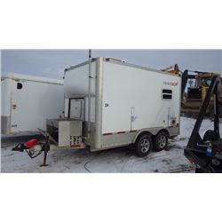 2009 MOBILE TECH SPLICE TRAILER VIN 1C9EU12279B746701 WITH YAMAHA 7200 DIESEL GENERATOR, AIR CONDITI