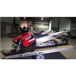 2014 POLARIS PRO RMK 800 155 TRACK VIN 1CG8GS1EC013982 WITH 1500 KMS RUNS AND DRIVES AS GOOD AS IT L