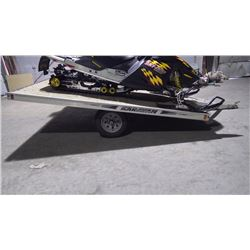 KARAVAN TWO SLED ALUMINUM TRAILER