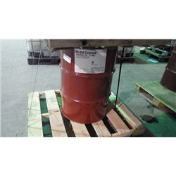 180KG DRUM OF MOBIL GREASE HXP 321 MINE PREMIUM LITHIUM COMPLEX GREASE
