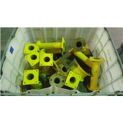 TUB OF FLANGES PLUS PUMP HOUSING AND END PLATE