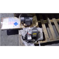 3 MOTORS (1/2 HP GEAR) (1/3 HP GEAR MOTOR) (1-1/2 HP MOTOR) ALL 575V